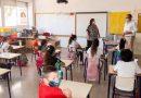 Las aulas confinadas en la Comunitat vuelven a niveles de antes de Navidad