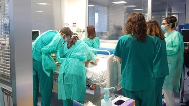 El coronavirus no se frena: 4.777 hospitalizados, 604 ingresados en UCI y 8.423  nuevos casos