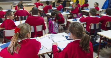Primera Semana de junio: Ligero incremento de confinados con 181  alumnos y 20 docentes