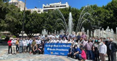 Mazón obtiene el respaldo masivo de Alicante a su candidatura con más de 5.000 avales